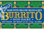 Amy's Bean & Rice GF Burritos