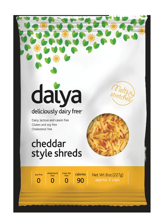 Daiya Chedder Style Shreds