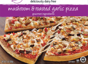 Daiya Mushroom Garlic Pizza