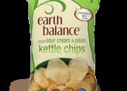 Earth Balance Kettle Chips Sour Cream & Onion