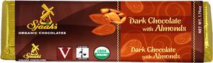 Sjaaks Dark Choc Almond Bar