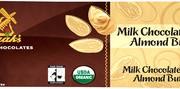 Sjaaks Melk Choc Almond Butter Bar