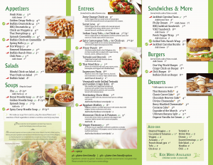 West Covina Menu (2-of-2)