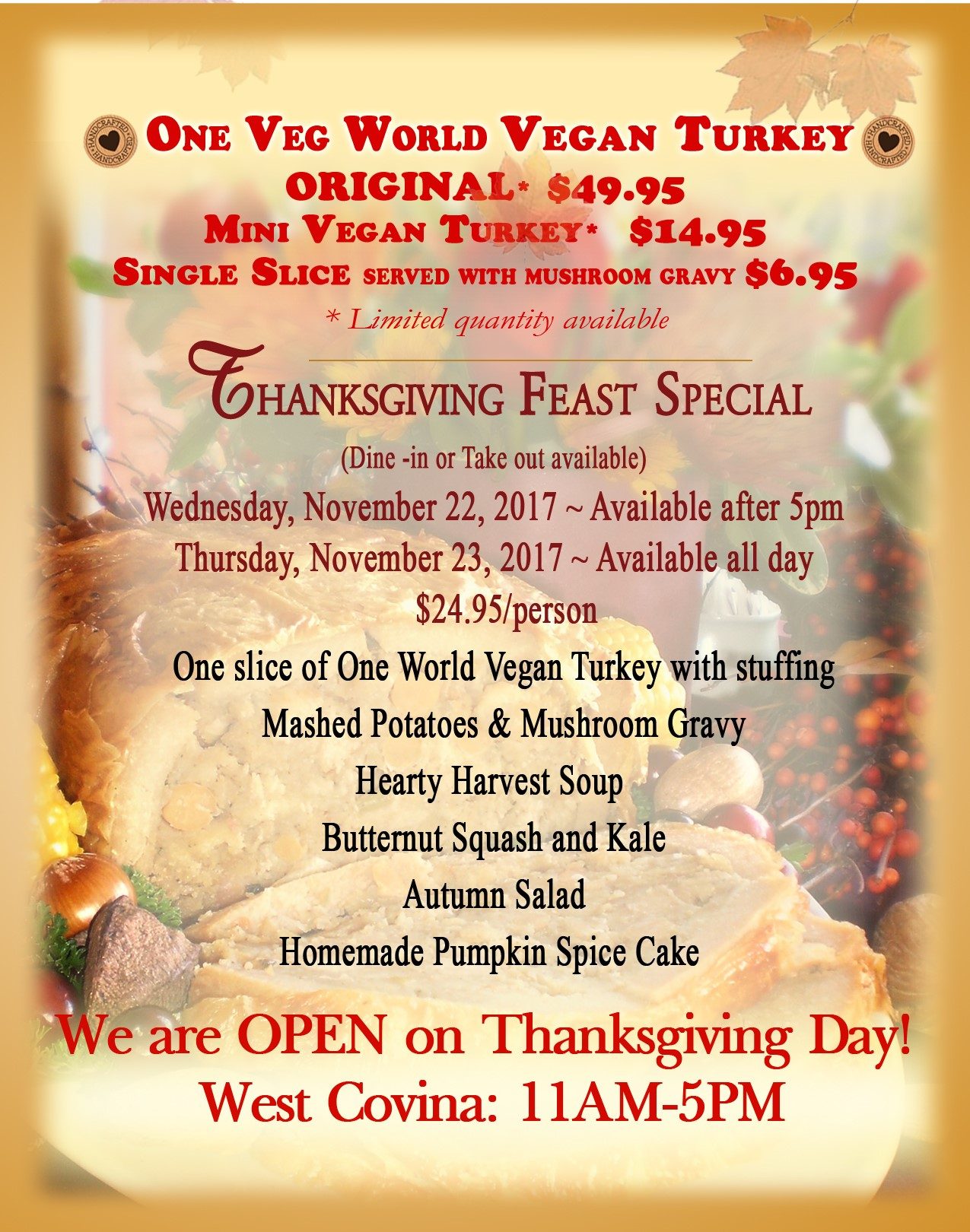 2017 Thanksgiving Special